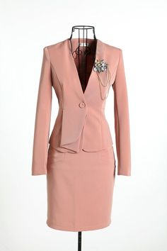 2013 New Formal Women Suit Blazer Skirt for Office Ladies OL Business Career Suit Fashion Plus Size Free shipping $47.60