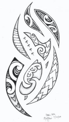 What do you think about this tattoo? Maori Designs, Stammestattoo Designs, Polynesian Tattoo Designs, Polynesian Art, Tribal Tattoo Designs, Tattoo Sleeve Designs, Tribal Tattoos, Tattoo Maori, Tattoo Font For Men
