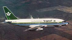 Saudi Arabian Airlines Boeing 737, c1980