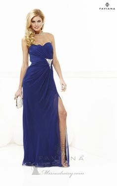 Cheap Blue Prom Dress