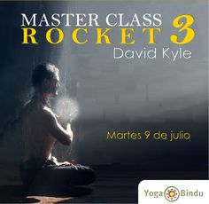 Pòster de la Master class que oferirá el proper dimarts 9 de juliol a les 20:45H en el nostre centre.
