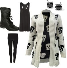 Friday's Fancies Skull Sweater.  Not sure it's classroom appropriate, but it's so adorable!