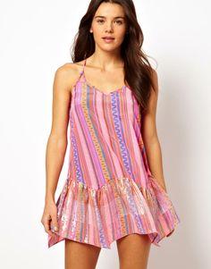 cute cover up / beach dress