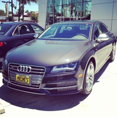 The S must stand for sexy, because this Audi S7 is just so drop dead gorgeous... www.KeyesAudi.com