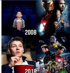 Omg this is the same thing I'm going through! I️ first read the comics when I️ was I️ was 9 when the first marvel movie (Iron Man) came out. And I'm still growing up and reading/watching them at I'm so excited for avengers Infinity War! Marvel Avengers, Marvel Films, Marvel Dc Comics, Marvel Heroes, Marvel Venom, Funny Marvel Memes, Marvel Jokes, Dc Memes, Funny Memes