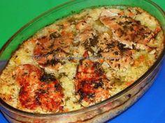 Pilaf de orez cu piept de pui la cuptor Rice Recipes, Cooking Recipes, Healthy Recipes, Romanian Food, Romanian Recipes, Rice Dishes, Desert Recipes, Macaroni And Cheese, Food To Make