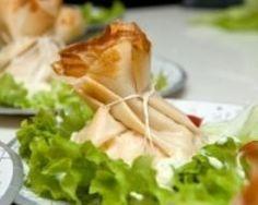 Aumonières au brie et aux lardons (facile, rapide) - Une recette CuisineAZ