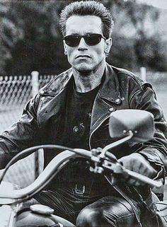 """Arnold Schwarzenegger in """"Terminator 2"""", 1991, My FAVORITE movie hands down"""