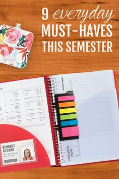 Organization is everything – minimize stress this semester with these fab must-have items!