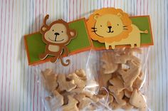 Safari Animal Treat bags/favor bags by ajzdelights on Etsy