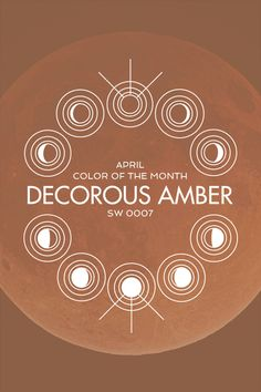 Sherwin-Williams' April Color of the Month: Decorous Amber (SW 0007)