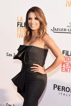 Eva Longoria hits the red carpet for first time since dream Cambodian honeymoon…