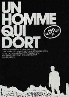 Bernard Queysanne et Georges Perec [ Un Homme Qui Dort ] 1974
