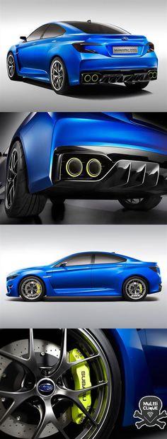 Subaru WRX Concept it looks like the mix of a honda civic, a mazda 6 and an evo....idk if im to impressed Subaru...merr