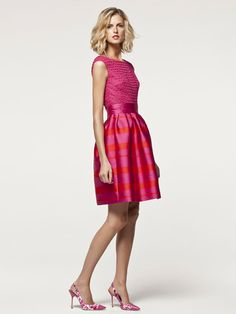 Look 29 Carolina Herrera Orange Dress, Pink Dress, Dress Up, Dressy Outfits, Cool Outfits, Day Dresses, Cute Dresses, Day Party Outfits, Fashion 2017