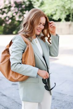 Start Transitioning Your Workwear With This Fall Inspired Blazer - Oh What A Sight To See Full Look, That Look, Autumn Inspiration, Fashion Inspiration, Summer Work Wear, Autumn Summer, Fall, New Wardrobe