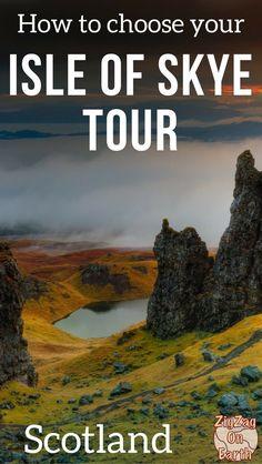best tour Isle of Skye Tours from Edinburgh - trip to skye island tours Scotland Travel