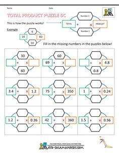 math worksheet : math worksheets printable multiplication 4 digits by 1 digit  : Multiplication Puzzle Worksheets 4th Grade
