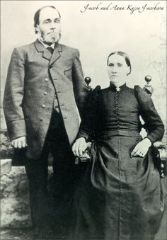Great Grandparents Jacob Andersson and wife in Dalskog SWE
