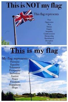 """Fly our flag will pride Scotland has awoken We won't go back to sleep Independence nothing Less Scotland History, Glasgow Scotland, Scotland Travel, Edinburgh, Scotland Culture, Scottish Thistle, Scottish Clans, Scottish Highlands, Scottish Kilts"