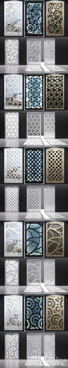 3d models: Other decorative objects - Set of decorative panels_06