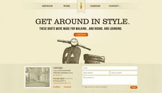 website 20s style - Google Search
