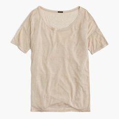 J.Crew Womens 10 Percent T-Shirt (Size XXS)