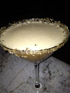 Espresso Martini (with a dash of Baileys to make it decadent and creamy.)