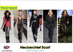 Neckerchief #Scarf Trend for Fall Winter 2014 #Fall2014  #FW2014 #Fall2014Trends #Fashion #Trends
