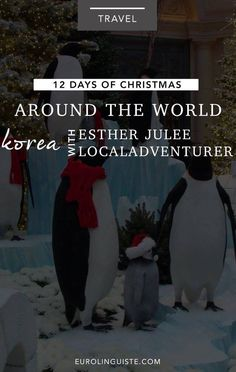 Christmas in Korea with Esther Julee | 12 Days of Christmas Around the World Day 10