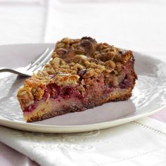 Cranberry Streusel Cake Recipe - Nancy Olson | Food & Wine