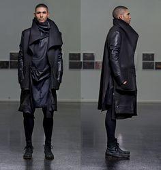 "mylifeinlarge: "" Designer: Florian Wowretzko / Menswear II. ECCE HOMME F/W 2013 / 2014 """