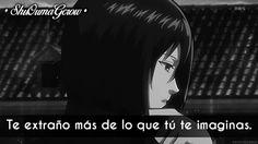Te extraño #ShuOumaGcrow #Anime #Frases_anime #frases