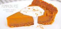Pumpkin Pie glutenfrei, vegan