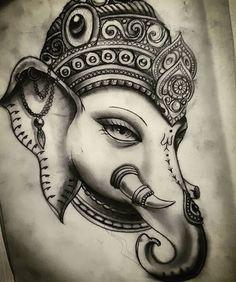 Resultado de imagen de ganesh tattoo