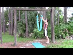 How to Rig an Aerial Yoga Hammock - YouTube