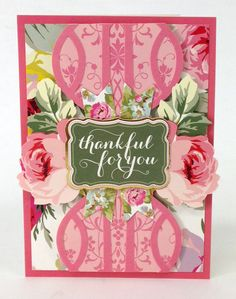 The ©Anna Griffin, Inc. Grace Collection fuses polished elegance and a contemporary color palette, featuring lush graphically painted roses, lively damasks brushed with bright fuschia and gorgeous green and gorgeous green and pink die cut designs! This designer kit is available on hsn.com for $34.95.
