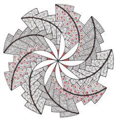 Tangled spiral by Mariska den Boer 134