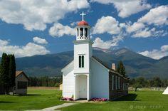 St. Mary's Mission-Stevensville, Montana