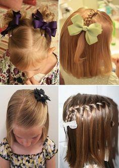 Hairstyles for Girls for medium length hair