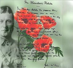 Nov 11th is Rememberence Day in Canada