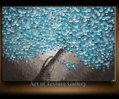 Big Large Oil Impasto Painting Custom Original by artoftexture