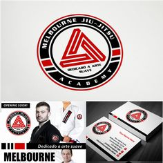 Melbourne Jiu-Jitsu Academy - Looking for a great designer to create a Logo for my Jiu-Jitsu Academy plus brand Identity Pack A Jiu-Jitsu Academy offering self defence and Brazillian Jiu-Jitsu classes to men, women and children in a profession...
