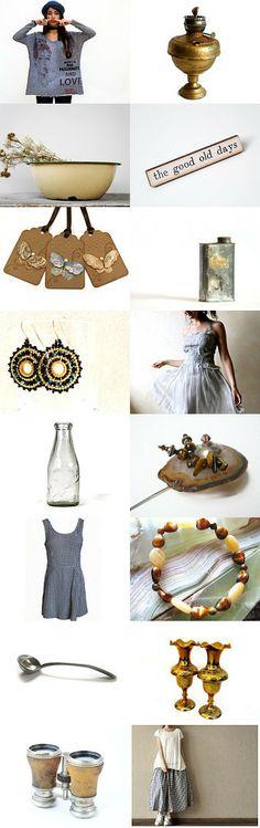 A jewelry by NaLa Etsy treasury ... https://www.etsy.com/treasury/NzQ0NzM5M3wyNzI2MDQ3ODA2/the-good-old-days #vintage #fashion #gifts