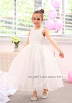 2 layers dress, top chiffon layer and 1 layer lining. Beautiful and attractive, let your girl be a graceful princess. Dress is made of polyester, lace and chiffon material, hand wash or dry cleaning. Wedding Bridesmaids, Wedding Dresses, Chiffon Material, Dress Formal, Princess Wedding, Formal Wedding, Christening, Chiffon Tops, Lace Dress