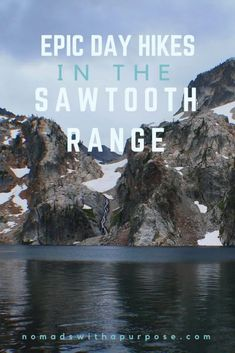 The Sawtooths of Idaho are one of our favorite mountain ranges in America.This national forest contains hundreds of hiking possibilities and unlike neighboring mountain ranges in Utah and Wyoming, crowds are lacking, leaving a wonderful Sawtooth Mountains, Best Hikes, Day Hike, Vacation Spots, Greece Vacation, Vacation Ideas, Cool Places To Visit, Travel Usa, The Great Outdoors