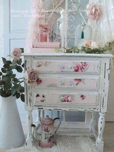 Modern Shabby Chic Bedroom Ideas Modern Shabby Chic Bedroom Ideas - Victorian Nightstand upcycled furniture with drawer End Table Flower Decor ❤°(¯`★´¯)Shabby Chic(¯`★´¯)°❤. Shabby Chic Furniture How to Decorate a Shabby Chic Bathroom Shabby Chic Bedroom Furniture, Shabby Chic Living Room, Shabby Chic Interiors, Shabby Chic Bedrooms, Shabby Chic Kitchen, Shabby Chic Homes, Bedroom Modern, Kitchen Decor, Chic Bedding