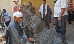 Giza men arrested after digging up ancient temple under house