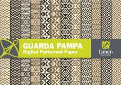 Paper Crafts: Guarda Pampa Digital papiers pour Scrapbooking carte par limen