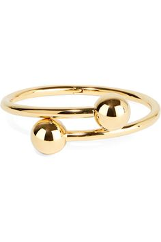 SHOP: JW Anderson Gold-plated cuff
